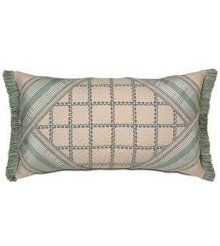 Eastern Accents Carlyle Clervaux Sky Collage Pillow