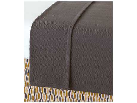 Eastern Accents Truman Bozeman Charcoal Coverlet