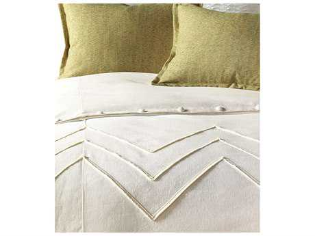 Eastern Accents Sandler Filly White Button-Tufted Comforter