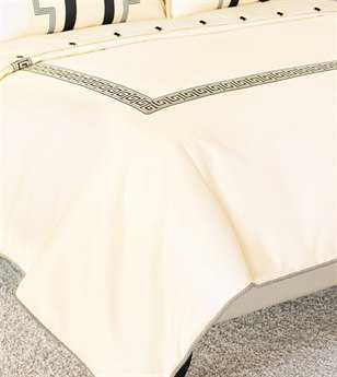 Eastern Accents Abernathy Folly Parchment Button-Tufted Comforter