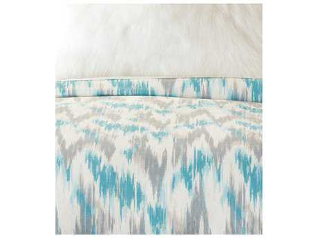 Eastern Accents Eloise Ice Button-Tufted Comforter