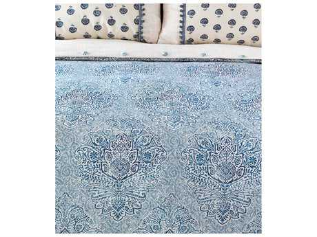 Eastern Accents Martinque Sapphire Hand-Tacked Comforter