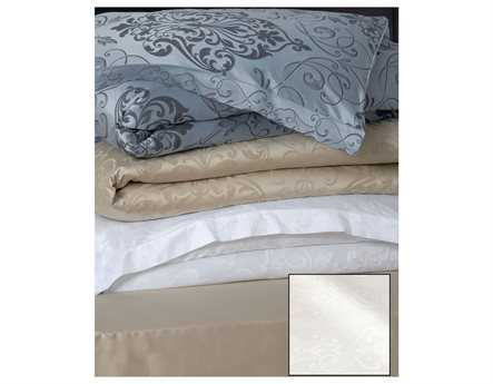 Eastern Accents Ornato White Duvet Cover