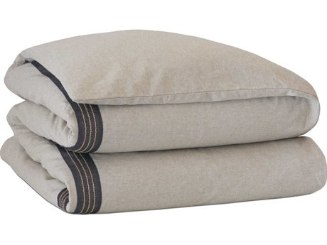 Eastern Accents Vita Greer Linen Hand-Tacked Comforter