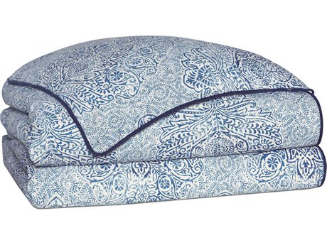 Eastern Accents Martinique Sapphire Hand-Tacked Comforter