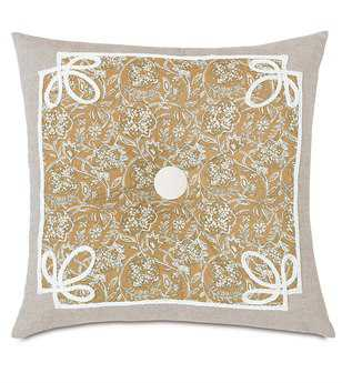 Eastern Accents Edith Fellows Amber Tufted Pillow