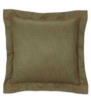 Eastern Accents Glenwood Quentin Olive Euro Sham