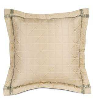 Eastern Accents Carlyle Capellen Ivory Euro Sham