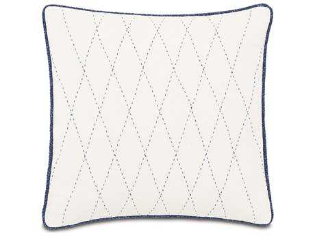 Eastern Accents Indira Dean Parchment with Tailor Tacks Accent Pillow