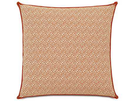 Eastern Accents Indira Ingalls Orange with Knots Accent Pillow