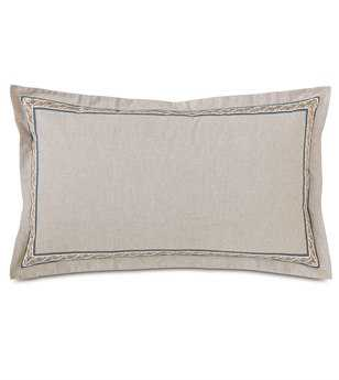 Eastern Accents Edith Greer Linen King Sham
