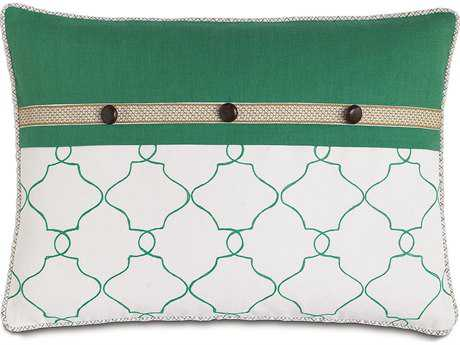 Eastern Accents Lanai Mila Moss/Breeze Kelly with Cord Accent Pillow