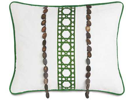 Eastern Accents Lanai Baldwin White Inserts Accent Pillow