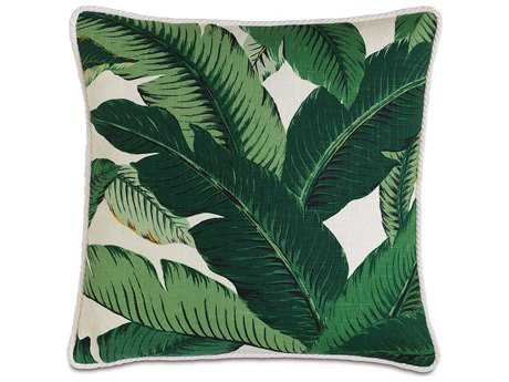 Eastern Accents Lanai Lanai Palm with Cord Accent Pillow
