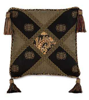 Eastern Accents Langdon Diamond Collage Pillow