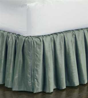Eastern Accents Lucerne Solid Velvet Lucerne Ocean Ruffled Skirt