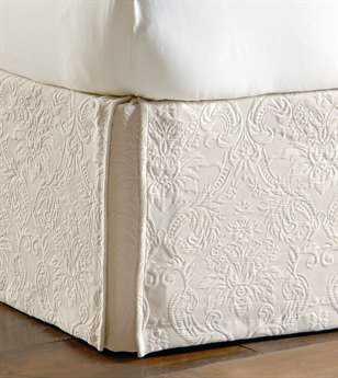 Eastern Accents Sandrine Matelasse Sandrine Ecru Bed Skirt