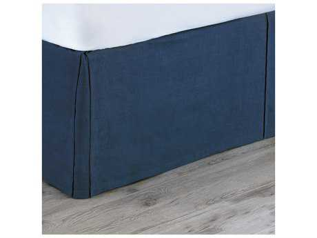 Eastern Accents Martinque Breeze Indigo Bed Skirt