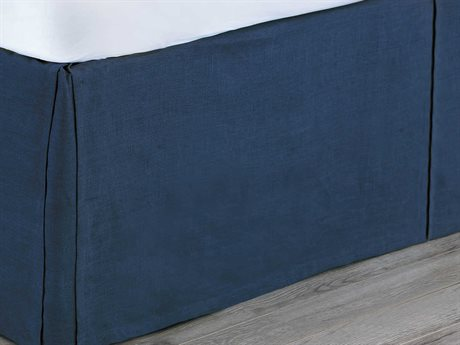 Eastern Accents Martinique Breeze Indigo Bed Skirt