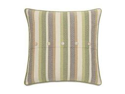 Eastern Accents Stelling Sago Grass With Buttons Pillow
