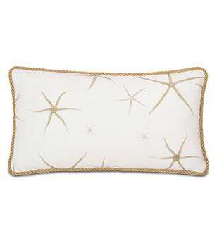 Eastern Accents Stelling Tybee Natural With Cord Pillow