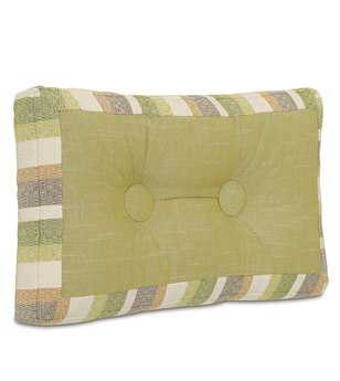Eastern Accents Stelling Sago Grass Mitered & Tufted Pillow