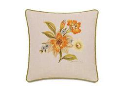 Eastern Accents Stelling Hand-Painted Stelling Motif Pillow