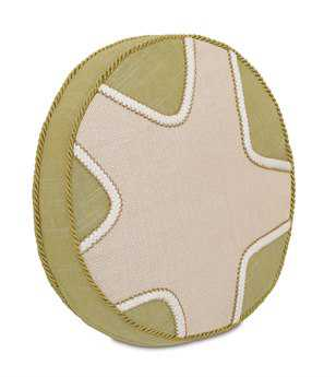 Eastern Accents Stelling Vivo Bisque Tambourine Pillow