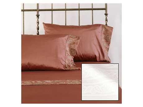 Eastern Accents Henna White Sheet Set