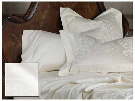 Eastern Accents Ornato White Sheet Set