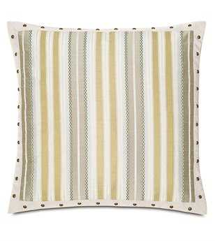 Eastern Accents Wakefield Genevieve Citrine With Border Pillow