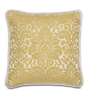 Eastern Accents Wakefield With Brush Fringe Pillow