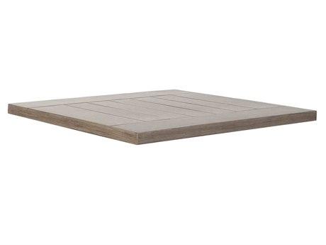 Ebel Portofino Aluminum 22'' Wide Square Table Top