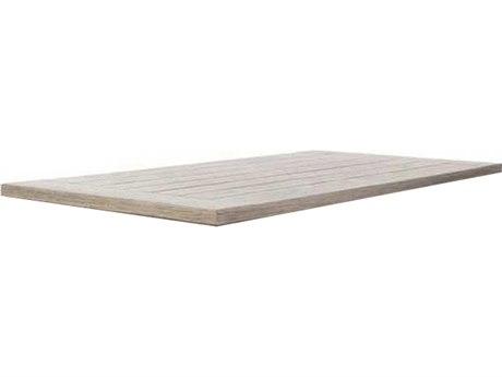 Ebel Portofino Aluminum 46''W x 23''D Rectangular Coffee Table Top