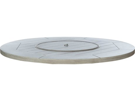 Ebel Fiore Aluminum 48'' Wide Round Fire Pit Top