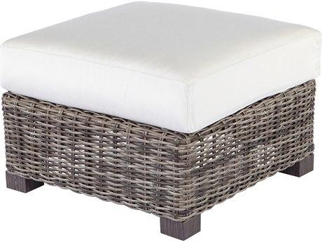 Ebel Avallon Wicker Ottoman