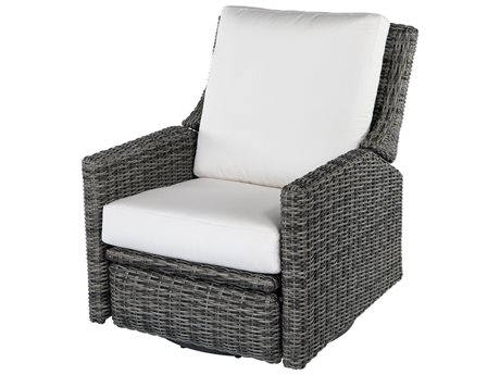 Ebel Avallon Wicker Swivel Recliner Lounge Chair