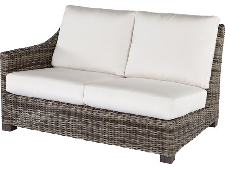 Ebel Avallon Wicker Right Arm Loveseat PatioLiving