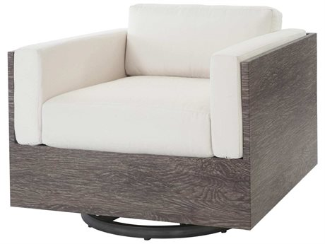 Ebel Marcello Aluminum Swivel Glider Lounge Chair In Sienna Style Cushions