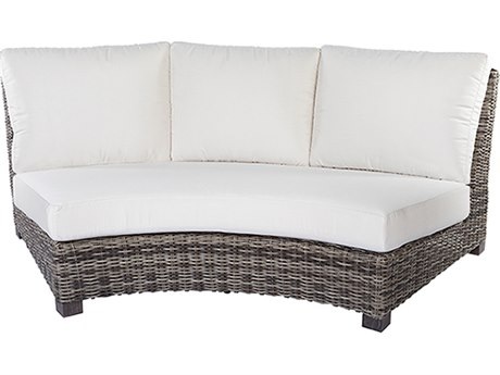 Ebel Avallon Wicker Curved Sofa