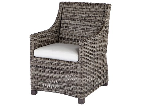 Ebel Avallon Wicker Dining Arm Chair