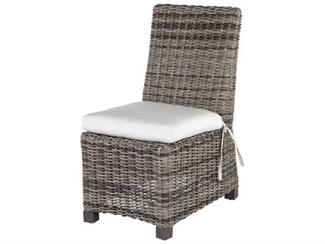 Ebel Avallon Wicker Dining Side Chair PatioLiving