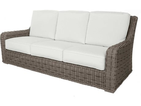 Ebel Laurent Wicker Sofa