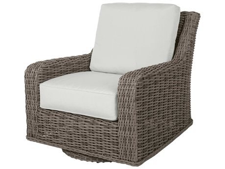 Ebel Laurent Wicker Swivel Glider Lounge Chair