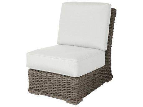 Ebel Laurent Wicker Modular Lounge Chair PatioLiving