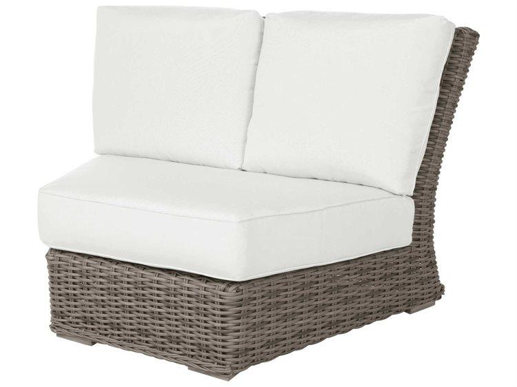 Ebel Lau Wicker Modular Curved Corner Lounge Chair 287