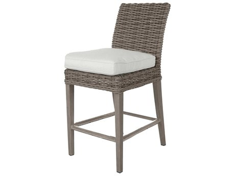 Ebel Laurent Wicker Armless Counter Height Stool