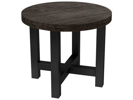 Ebel Asheville Aluminum 22''Wide Round End Table PatioLiving