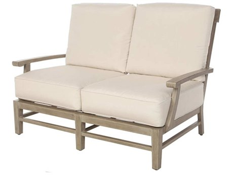 Ebel Close Out - LIMITED AVAILABLITY Portofino Natural Aluminum Loveseat