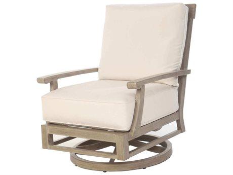 Ebel Portofino Aluminum Swivel Rocker Lounge Chair